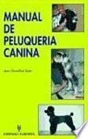 libro Manual De Peluquería Canina
