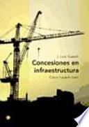 libro Concesiones En Infraestructura