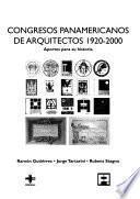 libro Congresos Panamericanos De Arquitectos 1920 2000