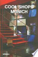 libro Cool Shops Munich