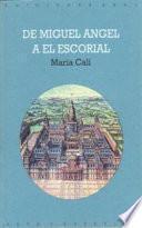 libro De Miguel Ángel A El Escorial