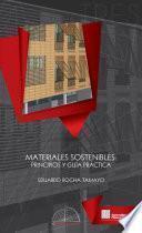 libro Materiales Sostenibles