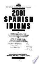 libro 2001 Spanish Idioms