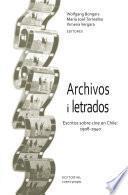 libro Archivos I Letrados