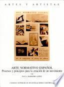 libro Arte Normativo Español
