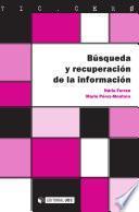 libro Búsqueda Y Recuperación De La Información