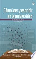 libro Cómo Leer Y Escribir En La Universidad