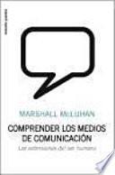 libro Comprender Los Medios De Comunicación