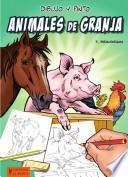libro Dibujo Y Pinto Animales De Granja