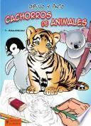 libro Dibujo Y Pinto Cachorros De Animales