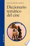libro Diccionario Temático Del Cine