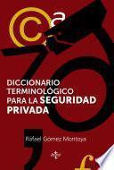 libro Diccionario Terminológico De La Seguridad Privada