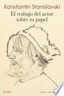 libro El Trabajo Del Actor Sobre Su Papel