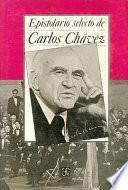 libro Epistolario Selecto De Carlos Chávez