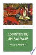 libro Escritos De Un Salvaje