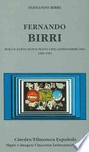 libro Fernando Birri