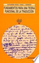 libro Fundamentos Para Una Teoría Funcional De La Traducción