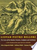 libro Giovan Pietro Bellori: The Lives Of The Modern Painters, Sculptors And Architects