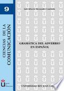 libro Gramática Del Adverbio En Español