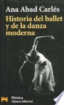 libro Historia Del Ballet Y De La Danza Moderna