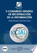 libro Ii Congreso Español De Recuperación De La Información