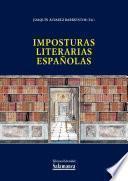 libro Imposturas Literarias Españolas