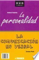 libro La Comunicación No Verbal Y La Personalidad
