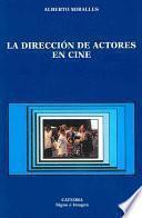 libro La Dirección De Actores En Cine