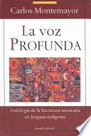 libro La Voz Profunda
