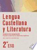 libro Lengua Castellana Y Literatura, 2 Eso. Programa De Adquisición De Competencias Lingüísticas, Cuaderno De Recuperación