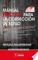 libro Manual Práctico Para La Corrección De Estilo