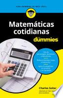libro Matemáticas Cotidianas Para Dummies