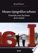 libro Museo Tipográfico Urbano