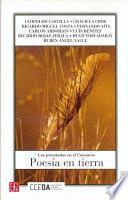 libro Poesía En Tierra