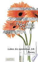 libro Práctica Dibujo   Libro De Ejercicios 14: Flores