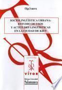 libro Sociolingüística Urbana