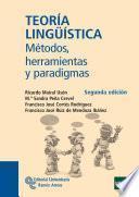 libro Teoría Lingüística