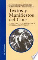 libro Textos Y Manifiestos Del Cine