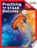 libro Time For Kids® Practicing For Staar Success: Reading: Grade 5 (spanish Version)
