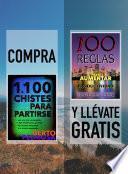 libro Compra 1100 Chistes Para Partirse Y Llévate Gratis 100 Reglas Para Aumentar Tu Productividad