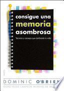 libro Consigue Una Memoria Asombrosa