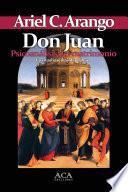 libro Don Juan. Psicoanalisis Del Matrimonio