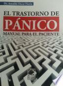 libro El Trastorno De Pánico