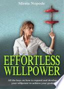 libro Fuerza De Voluntad Sin Esfuerzo