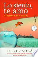 libro Lo Siento, Te Amo / Sorry, I Love You
