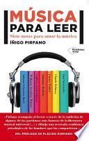 libro Música Para Leer