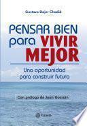 libro Pensar Bien Para Vivir Mejor