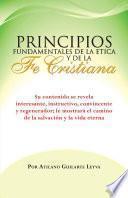libro Principios Fundamentales De La Etica Y De La Fe Cristiana