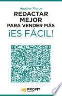 libro Redactar Mejor Para Vender Más ¡es Fácil!