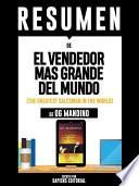 libro Resumen De  El Vendendor Mas Grande Del Mundo  (the Greatest Salesman In The World)   De Og Mandino